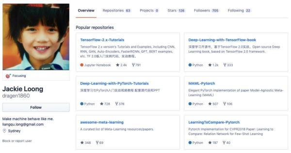 TensorFlow 2.0中文开æºä¹¦é¡¹ç›®ï¼šæ—¥èµž700,登上GitHub热榜