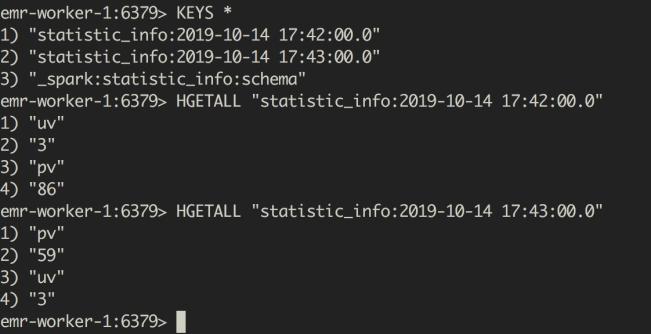 使用Spark Streaming SQL进行PV/UV统计