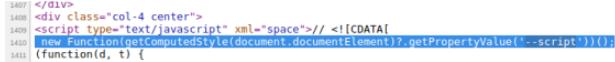 隐藏在网站CSS中的窃密脚本
