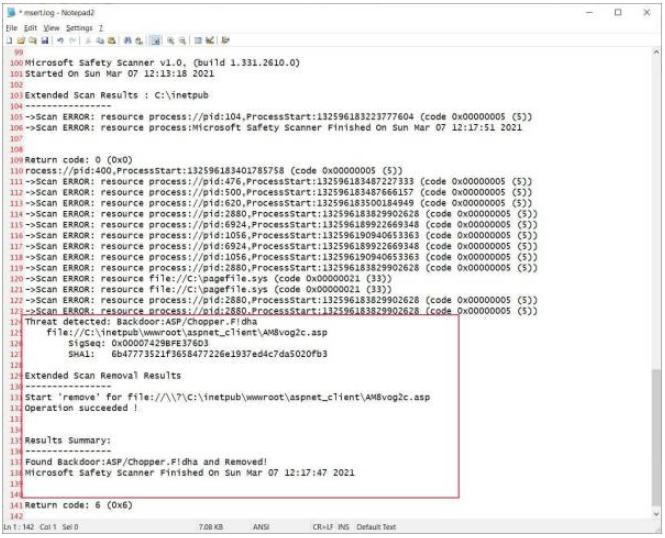 微软的MSERT工具现在可以从Exchange攻击中找到web shell